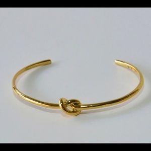 Gold Stella & Dot Knot Cuff